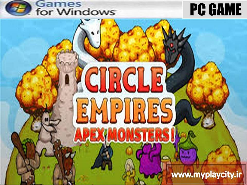 دانلود بازی Circle Empires Apex Monsters برای کامپیوتر
