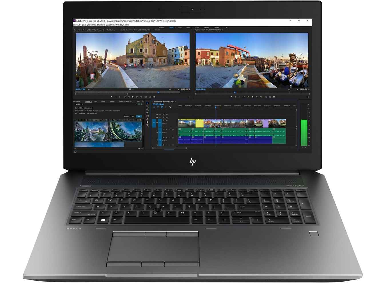 لپ تاپ استوک اچ پی مدل HP ZBOOK 15 G5 با مشخصات CPU Xeon-2186M-32GB or 64GB-500GB-SSD-1TB-HDD-4GB-nvidia-quadro-p2000