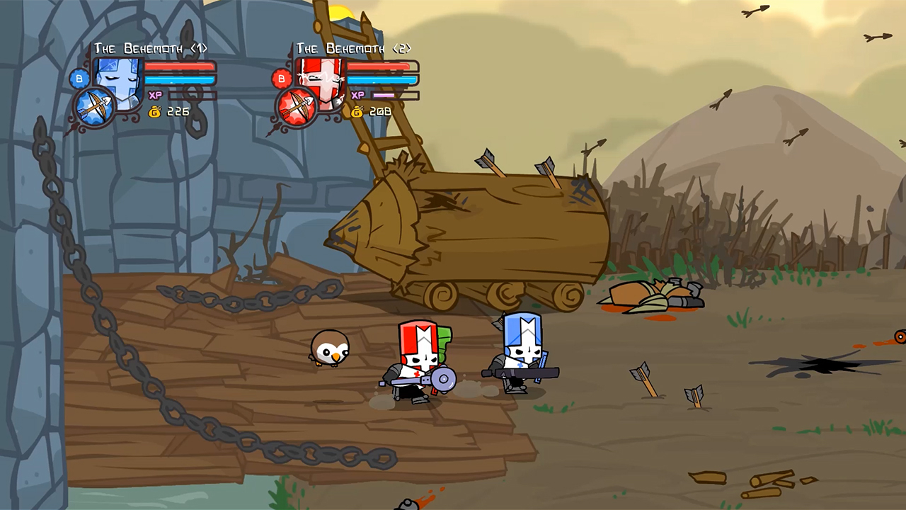 Castle Crashers Remastered is coming to Switch in September