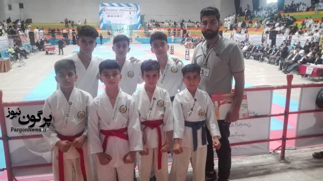 افتخار آفرینی کاراته کاران قیروکارزینی در مسابقات بین المللی مشهد