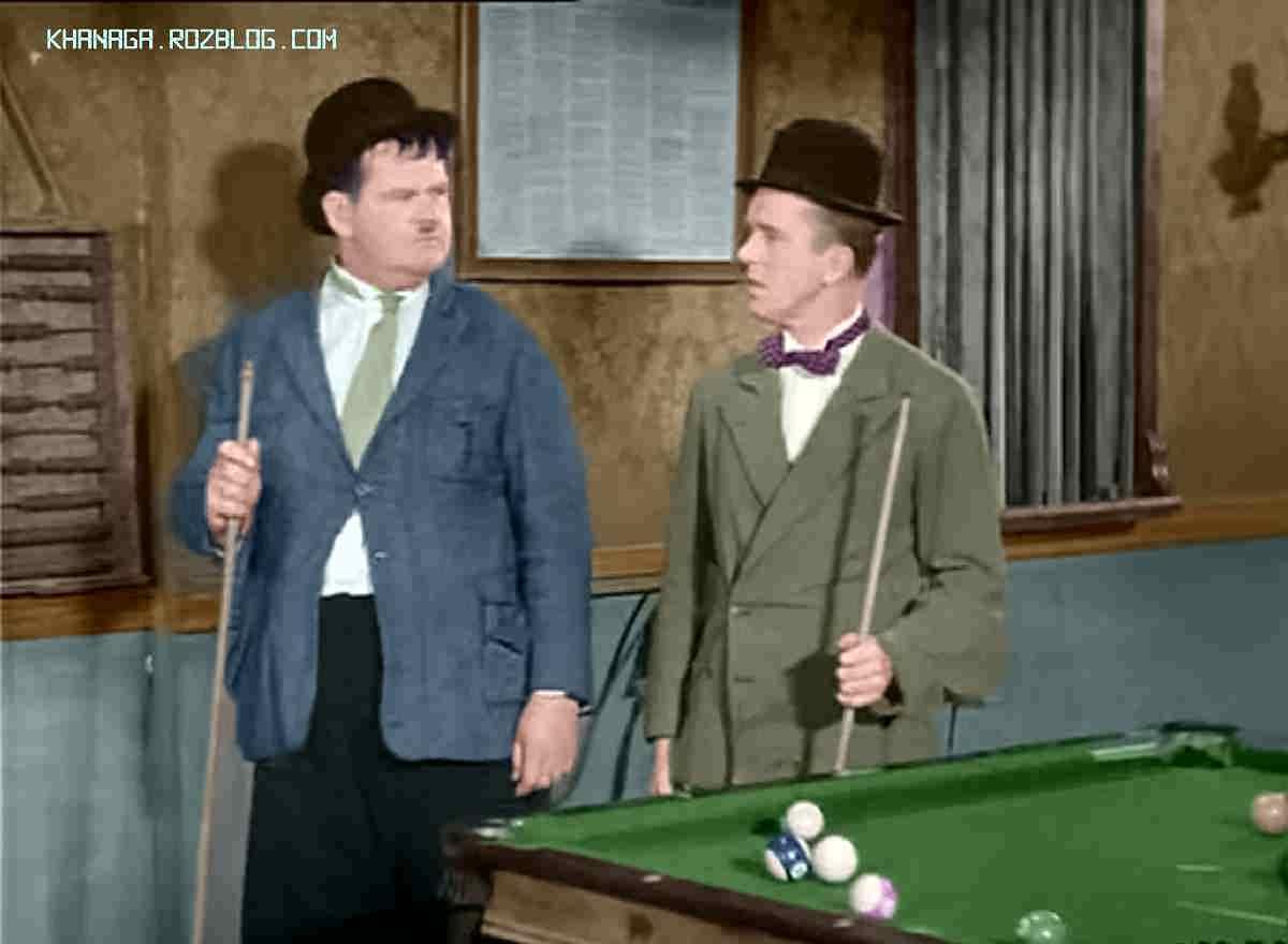لورل و هاردی - بندرگاه قدیمی