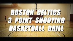 Shoot like Ray Allen! Boston Celtics 3 Point Shooting Basketball Drill