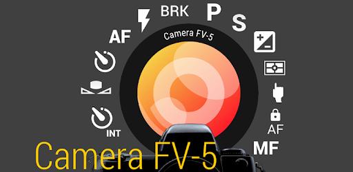 برنامه camera fv-5 برای اندروید