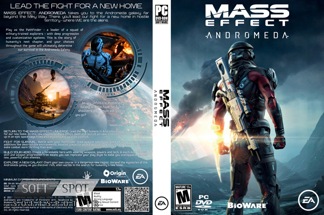 Mass Effect Andromeda Cover