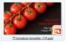 دانلود رایگان قالب پاورپوینت گوجه