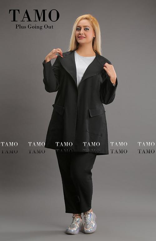 ست مانتو شلوار كد ها 19508 و 19509 برند TAMO